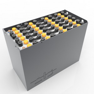 Container-A-47454000 / 43531 A - 48 volt 827*627*537mm / DIN / A / RAL 7021