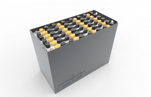 Container-A-47464800 / 43531 A - 48 volt 827*735*537mm / DIN / A / RAL 7021