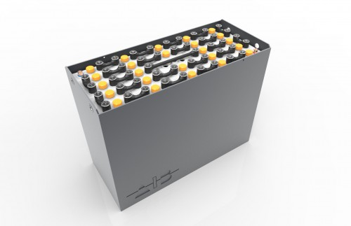 Container-B-484336R0 / 43531 B - 48 volt 1032*350*784mm / DIN / B / RAL 7021