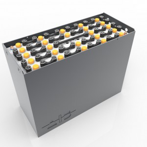 Container-B-48444000 / 43531 B - 48 volt 1027*436*627mm / DIN / B / RAL 7021