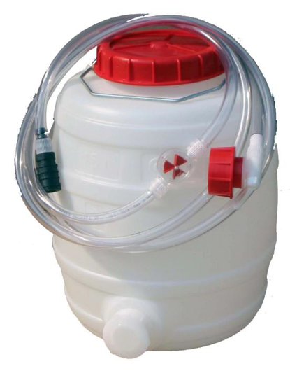PHILADELPHIA SCIENTIFIC - VULVAT - WTA30+F Watervat 28 l - afsluitkr.